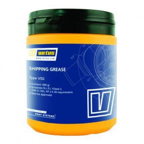 VETUS fett för marint bruk, lithium, N.L.G.I. Klass 2, DIN 515102. KP 2 K-30, 600 g