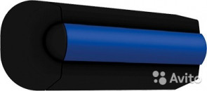 Ändstycken, svarta för avbärarlist typ TRAP55