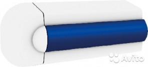 Ändstycken, vita för avbärarlist typ POLY35