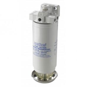 Vattenavskiljande bränslefilter CE/ABYC, dubbel, 10 micron, max. 102 g/h (460 l/h)