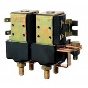 Dubbelrelä, 12 Volt/1500 Watt