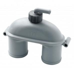 Vakuummventil med ventil, 38 mm
