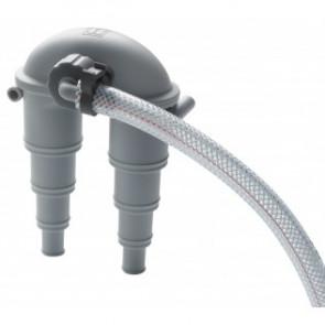 Vakuumventil med luftningsslang (inkl. 4 m slang och bordsgenomföring) för slang med I.D. 13-32 mm