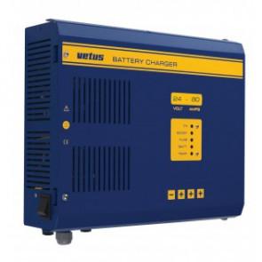 Batteriladdare 24 V, 80 A, för 3 batteribanker