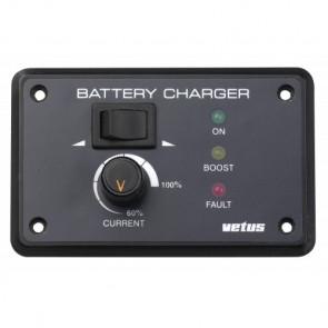 Fjärrkontrollpanel för batteriladdare 12/24V