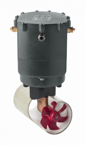 Bogpropeller med utökad driftstid, 95 kgf, 12 V, tunneldiameter 185 mm