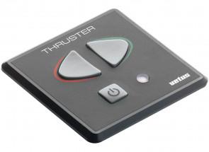 """Kontrollpanel med touchknappar typ """"SBabord"""" (ej tidsfördröjningsrelä), för bog- eller akterpropeller. 85 x 85 mm (exkl. signalkabel)"""
