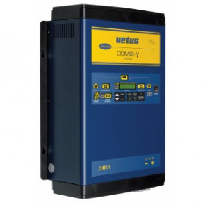Combi-γ Batteriladdare 40A/Inverter 1500W/Anslutning för solcelssladdare, 24V