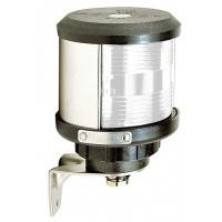 Trefärgad lanterna (SB, BB och akter) (basmonterad), vitt lamphus (exkl. glödlampa)