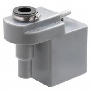 Överfyllnadsskydd för diesel med däcksförskruvning i rostfritt stål 38 mm, för slang med i.d. 38 mm, avluftning 16 mm
