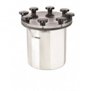"""Sjövattenfilter typ 525 i rostfritt stål, anslutning G1½"""" exkl. fäste för skottmontering"""