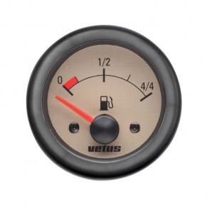 Instrument för bränsletank, 24 V, håltagningsmått. D: 52 mm (exkl. givare)