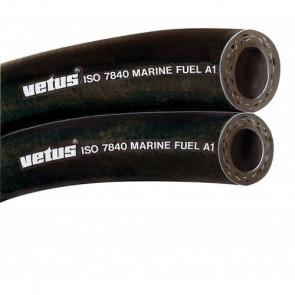 Bränsleslang ISO-7480 - Marinbränsle A1, i.d. 8 mm (rulle om 30 m) (pris/m)