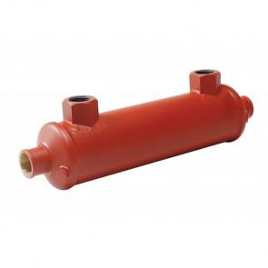 Hydrauloljekylare för slang med I.D. 47 mm