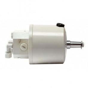 Rattpump typ HTP20, vit, med inbyggd backventil för 10 mm ledning