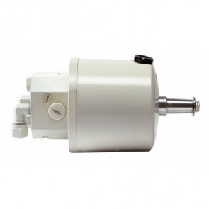 Rattpump typ HTP42, vit, med inbyggd backventil för 10 mm ledning
