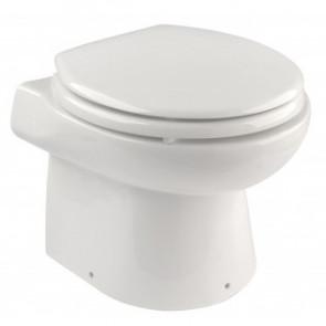 Liten toalett med 12 Volts pumpsystem