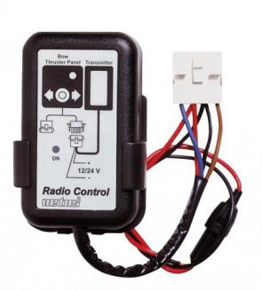 Installtionssats för en trådlöst monterad (fast) kontrollpanel, passande bog- eller akterpropeller 12/24 Volt, 3 A
