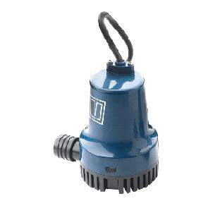 Dränkbar länspump 1900 L/h (500 G/h), 12 V, för anslutning 19 mm