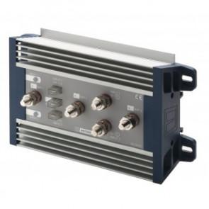 Batterifördelare, 12/24 Volt, för 2 generatorer max 2x150A eller 1 generator max 300 A. ingång för 3 batteribanker