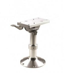 Justerbar stolspiedestal med gasfjäder samt slide, höjd 35-47 cm