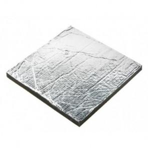 Ljudisolering Sonitech, 20mm aluminiumbelagd (600 x 1000 mm)