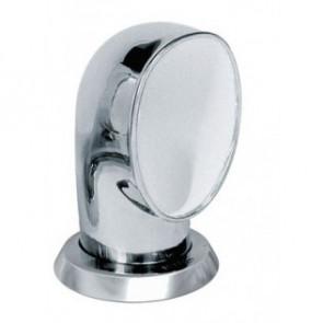 Däcksventilator typ Jerry i rostfritt stål 316, vit insida (inkl gängad ring och fäste på däck)