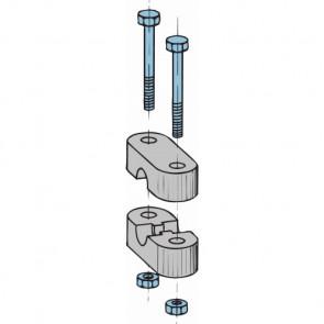 Reglagekabel hållare typ 33