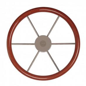 Skeppsratt med mahognyring, typ KW55, D. 550 mm