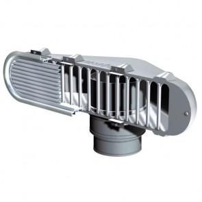 Doradebox för direkt luftmating till motor passar insugsgaller 100, för slang med i.d. 152 och 178 mm (exkl. galler och slang)