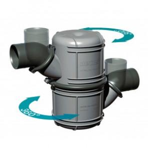 Vattenlås i plast typ NLP75