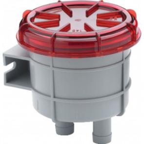 Odörfilter för avluftning från dieseltank, liten modell, med anslutning för slang med i.d. 16 mm