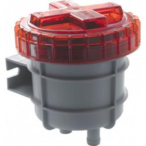 Odörrfilter för avluftning från dieseltank, med anslutning för slang med i.d. 19 mm