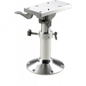 Manuellt justerbar stolspiedestal med slide, höjd 43,5-63,5 cm