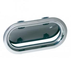 Porthole i rostfritt stål AISI 316, typ PMS23, A1 klass, inkl myggnät