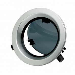 Portlight, i aluminum, typ PW201, klass A1, inkl. myggnät