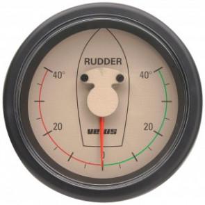 Roderlägesindikator typ RPI1800, 12/24 V, håltagningsmått. D. 100 mm (exkl. givare)