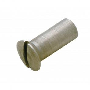 Täckskruv M4 i rostfritt stål, för Portlights, däcksluckor etc. (Pris/per 50 st.)