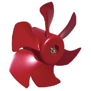 Propeller 6 blad, diameter 295 mm, för bogpropeller med 220, 285, 230 och 310 kgf dragkraft