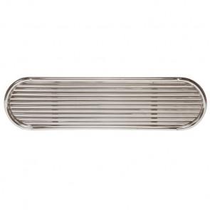 Insugssgaller i rostfritt stål AISI 316 med gälar typ SSVL90 (exkl. doradebox)