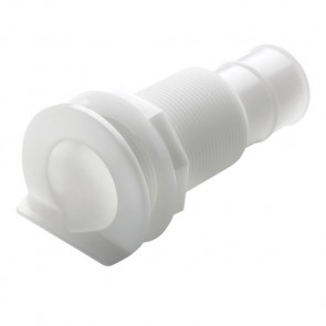 """Bordsgenomföring i plast med L-fläns, för slang med I.D. 16mm (5/8"""")"""