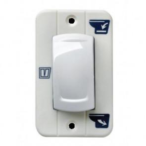 Vippbrytare för toalett typ TMWQ/TMS, 12 eller 24 Volt
