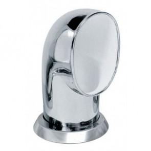 Däcksventilator typ Tom i rostfritt stål 316, vit insida (inkl gängad ring och fäste på däck)