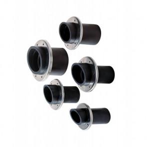 Avgasgenomföring i gummi 45 mm (exkl. slangklämmor)