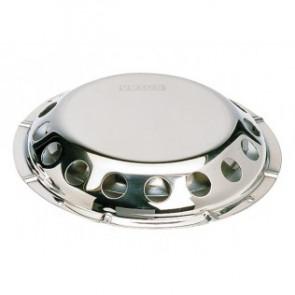 Däcksventilator typ UFO i rostfritt stål (inkl raster i plast för insidan)