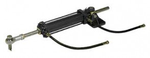 Styrcylinder typ MT0230 inkl. flexibla slanganslutningar (för anslutning till fast ledning)