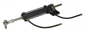 Styrcylinder typ MT0345 inkl. flexibla slanganslutningar (för anslutning till fast ledning)