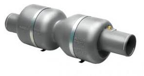 Ljuddämpare i plast typ MV100