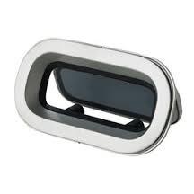 Portlight, i aluminum, typ PZ643, klass A3, inkl. myggnät