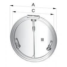 Altus däckslucka typ R420 (håltagningsmått: D=417 mm)